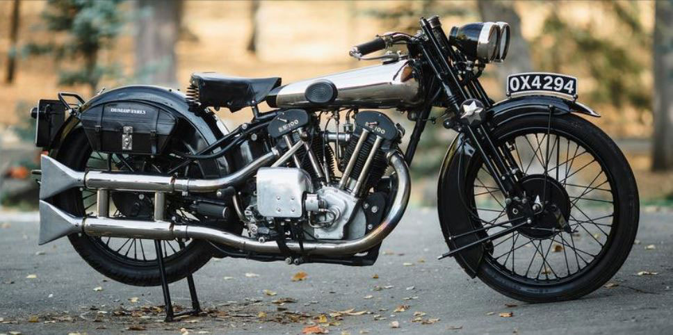 A motocicleta Brough Superior SS 100. - The Riders Histories